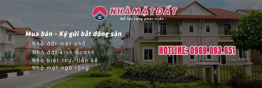 Nhà mặt đất - Mua bán ký gửi bất động sản thổ cư