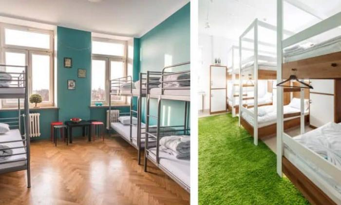 thiết kế nội thất hostel